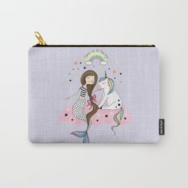 Mermaid & Unicorn Carry-All Pouch