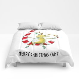 Merry Christmas Cane Comforters