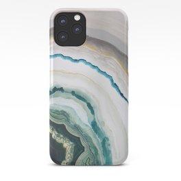 Green Agate #1 iPhone Case