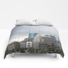 Downtown San Francisco, Changing Skyline Comforters