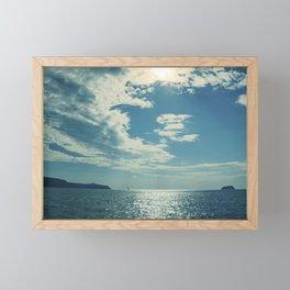 Santorini, Greece 17 Framed Mini Art Print