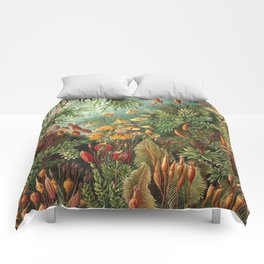Vintage Plants Decorative Nature Comforters