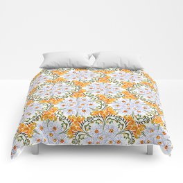 Freesia Floral Comforters