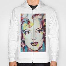 Merylin Monroe cinema and pop culture icon - portrait Hoody