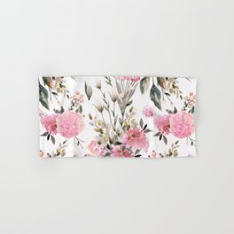 Roses and Wild Flowers Hand & Bath Towel