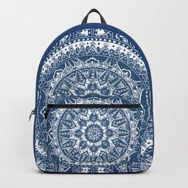 Blue Mandala Pattern Backpack