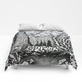 """""""pristina silva"""" Comforters"""