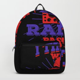 Ham Radio Operator Amateur Hams Gift Backpack