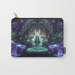 Convalescence - Visionary - Fractal - Manafold Art Carry-All Pouch