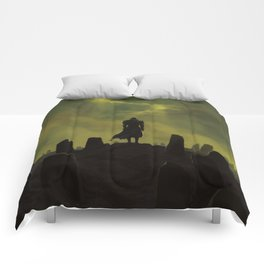 Dying alone Comforters