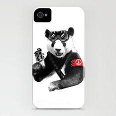 Panda Rebel iPhone (4, 4s) Slim Case