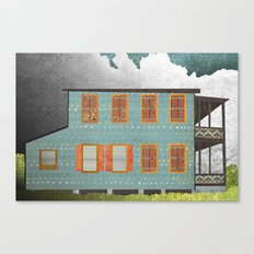 West Indies House Canvas Print