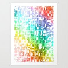 spectrum construct Art Print