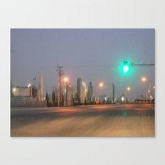 Green Light Canvas Print
