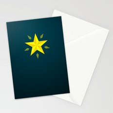 Gold Star/ Blue Stationery Cards