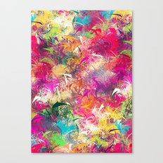 Random Paint Canvas Print