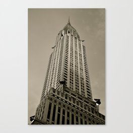 Art Deco (B/W) Canvas Print