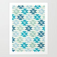 Triaqua Art Print