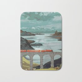 The Hogwarts Express Bath Mat