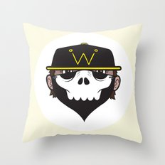 A Wicked Gentleman Throw Pillow