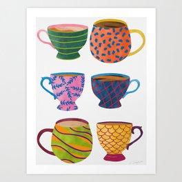 Comfort In A Cup Art Print