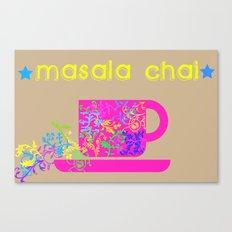 Tea series: Masala chai Canvas Print
