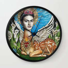 Wings to fly Wall Clock