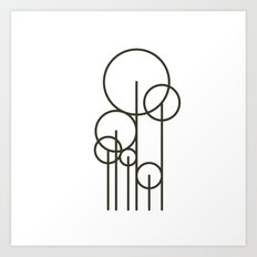 #457 Park – Geometry Daily Art Print