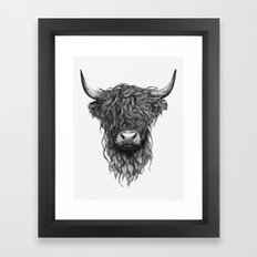 Highland Cattle Framed Art Print
