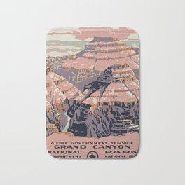 Grand Canyon Vintage Bath Mat