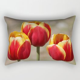 Three Tulips Rectangular Pillow