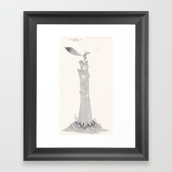 Cime Framed Art Print