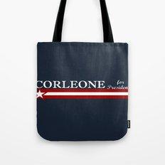 Corleone for President Tote Bag