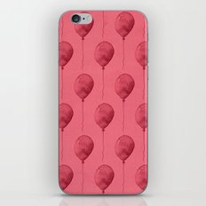 Balloons Watercolor Pattern iPhone & iPod Skin