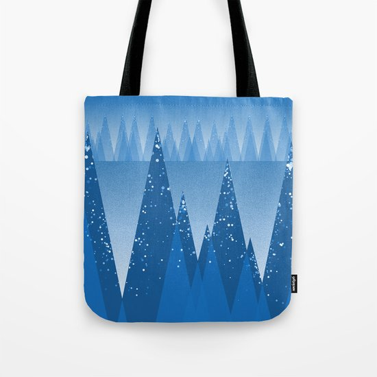 Blue Winter Design ! Tote Bag