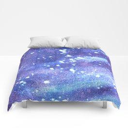 Blue Night Skies Comforters