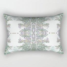 Tree Patterns Nuetral Colors Rectangular Pillow