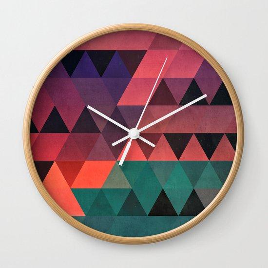 tryy cyty Wall Clock