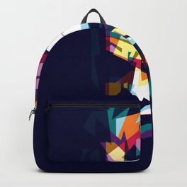 joker in colorful popart style Backpack