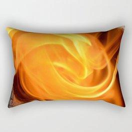 swirling flame Rectangular Pillow