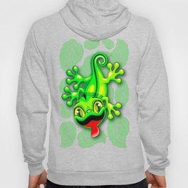 Gecko Lizard Baby Cartoon Hoody