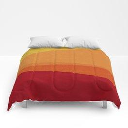Stripe X Orange Peel Comforters