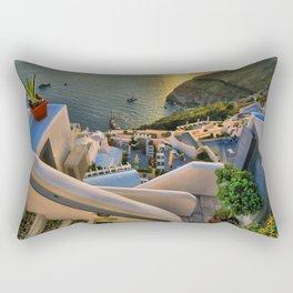 Santorini 1 Rectangular Pillow