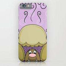 Cute Monster With Yellow And Purple Frosted Cupcakes Slim Case iPhone 6s