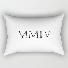 Roman Numerals - 2004 Rectangular Pillow