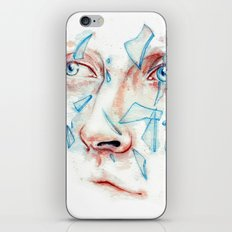 Shattered emotions iPhone & iPod Skin