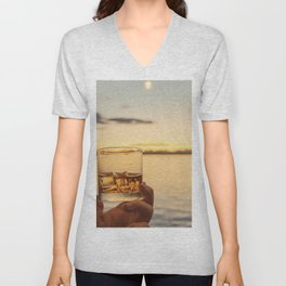 Cheers to the Sea Unisex V-Neck