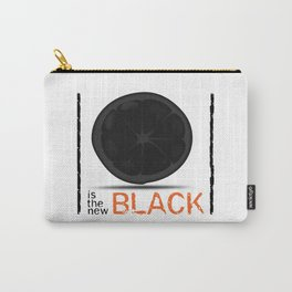 Orange / Black Carry-All Pouch