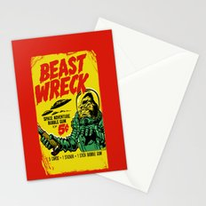 BEASTWRECK ATTACKS! Stationery Cards
