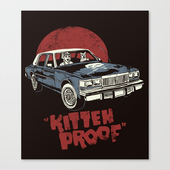 Kitteh Proof Canvas Print